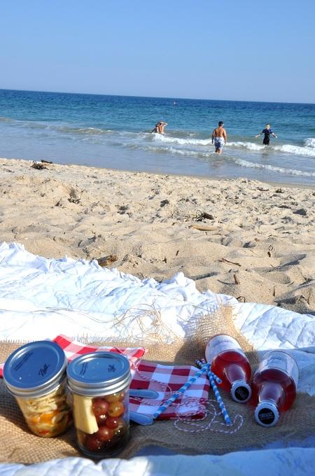 Beach Picnic In A Jar